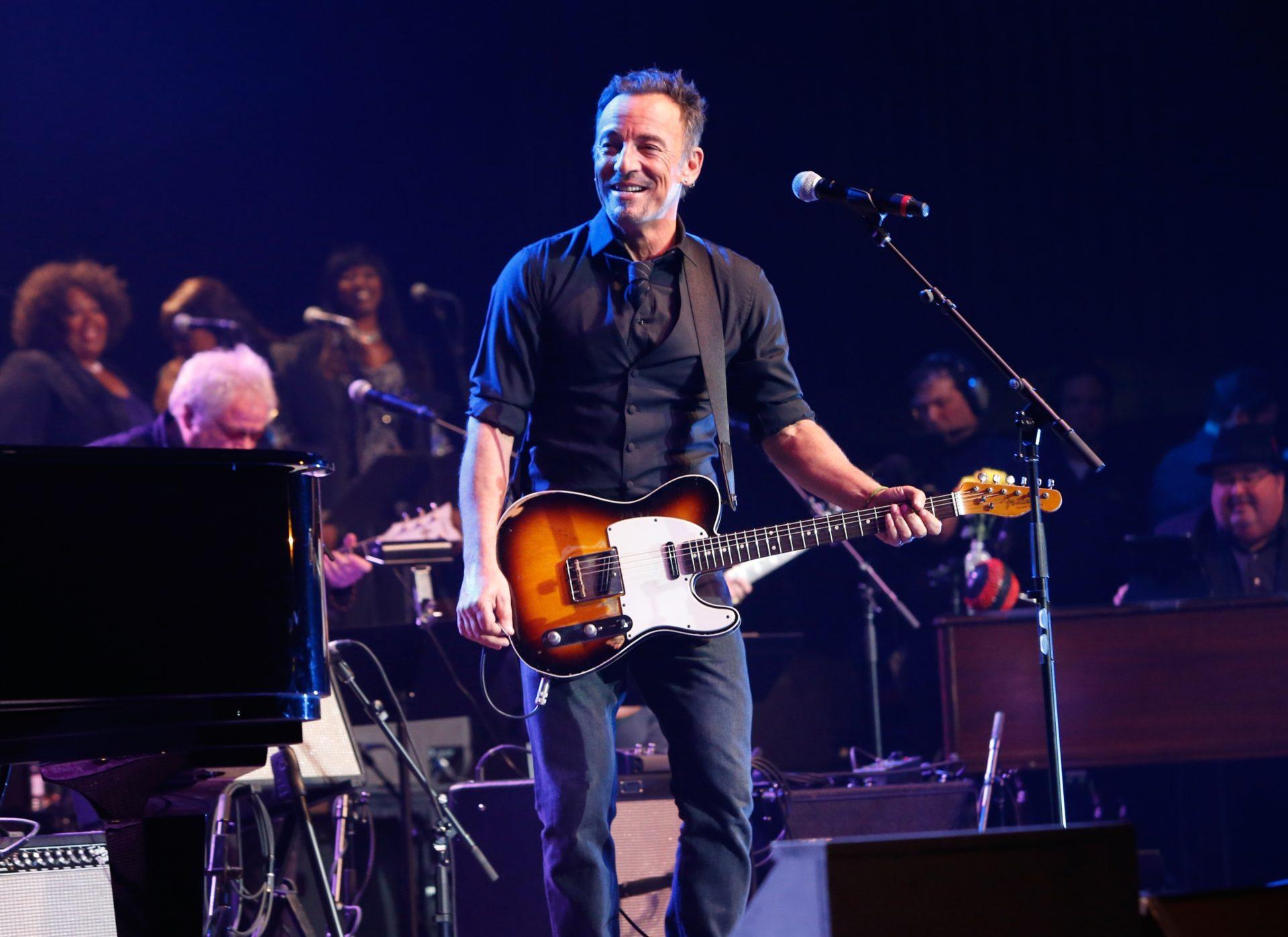 El músico estadounidense Bruce Springsteen anuncia su gira de conciertos en España