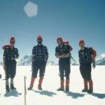 Fotografia: Carlos Soria durante la Expedición al Elbrus 1968