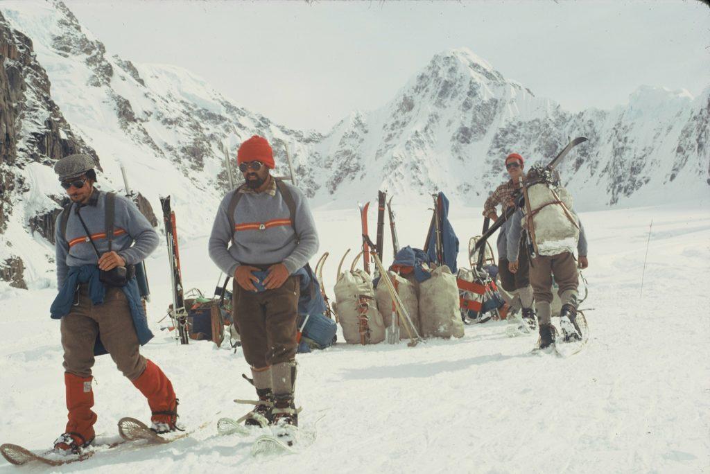 Fotografía: Carlos Soria durante la expedición al McKinley 1971