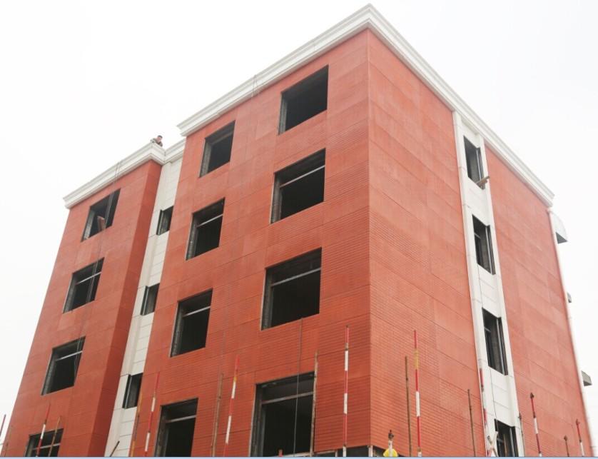 Edificio de cinco plantas construido con una impresora 3D ©WinSun recurso