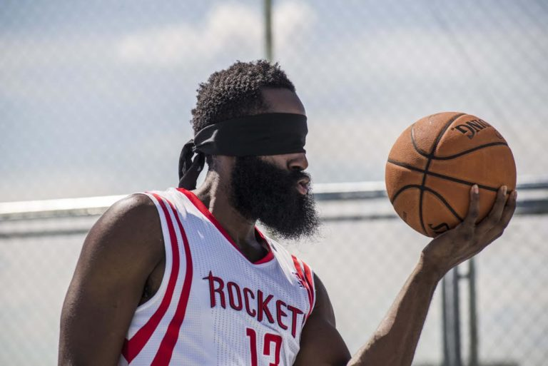 James Harden, jugador de los Houston Rockets y embajador BBVA en la NBA