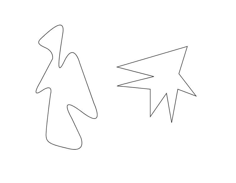 Fotografía del test Kiki y Booba para sinestésicos