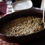 Fotografía de un plato de lentejas