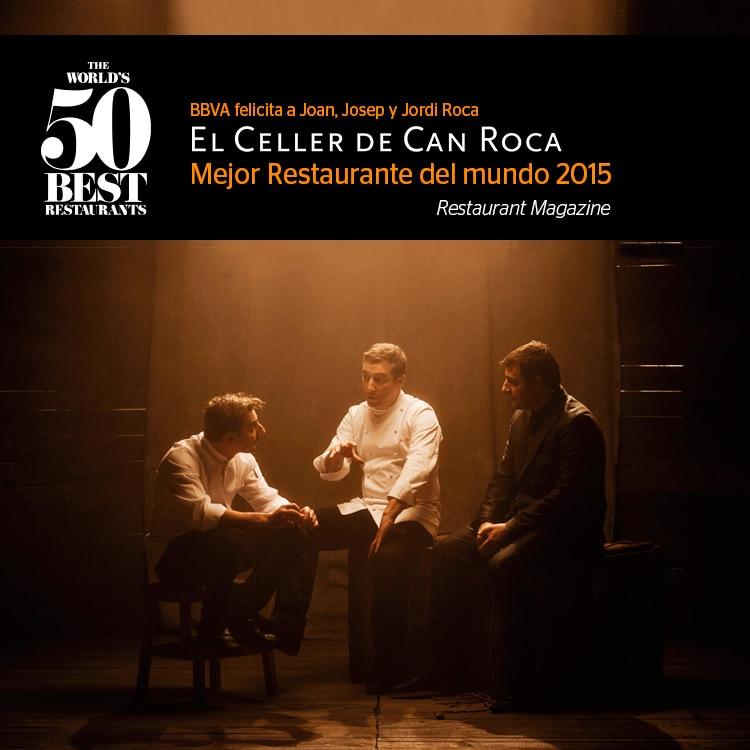 El Celler de Can Roca, mejor restaurante del mundo en 2015