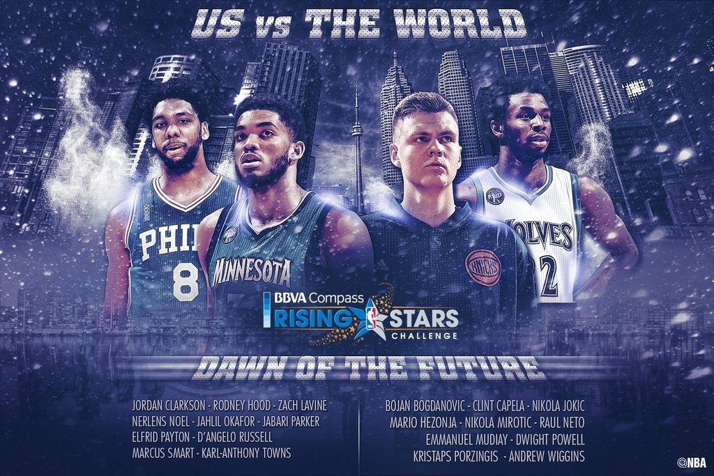 BBVA Compass Rising Star Challenge 2016 | Foto: NBA