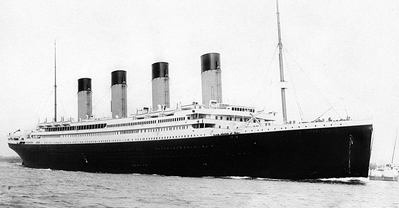 El hundimiento del Titanic tuvo lugar un año bisiesto