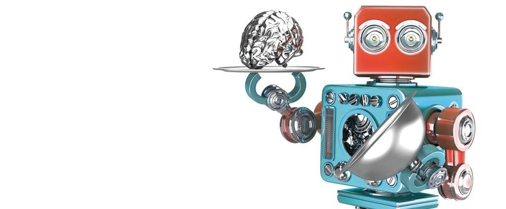 fotografía de robots recurso cerebro inteligencia artificial electronica innovacion