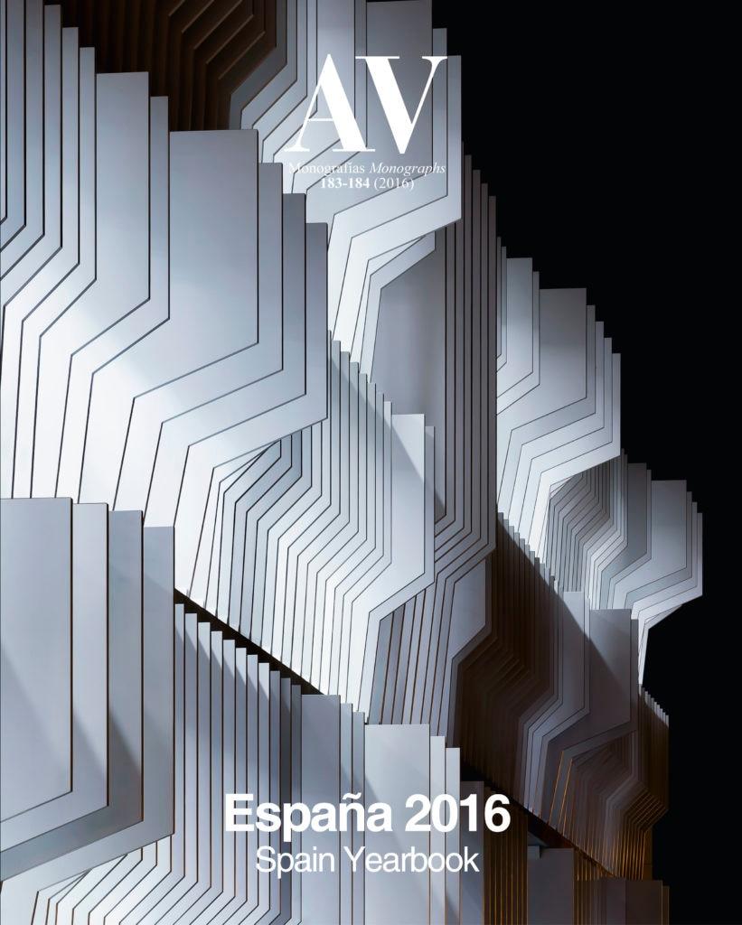 Imagen de la Ciudad BBVA en la cubierta del Anuario 2016 de Arquitectura Viva