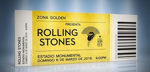 Imagen de Entradas Rolling Stones Lima 2016