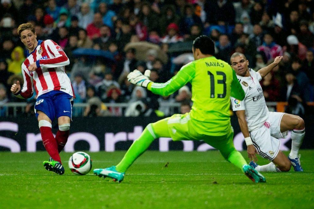 Fernando Torres vs Real Madrid