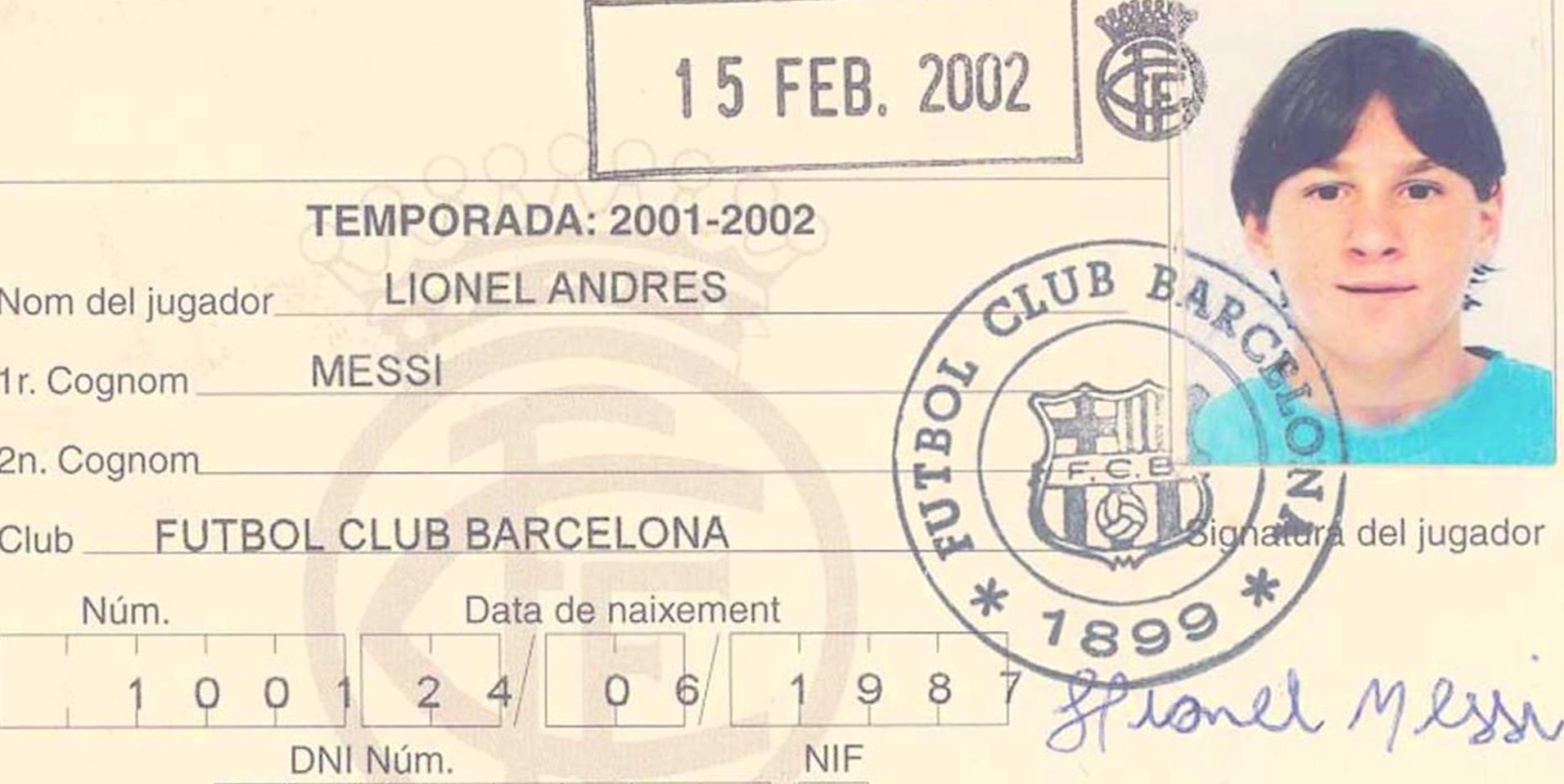 Ficha Leo Messi