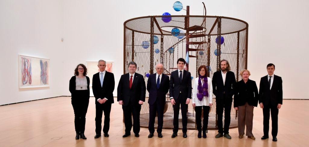 Imagen Inauguración de la exposición de Louise Bourgeois en el Museo Guggenheim de Bilbao, patrocinada por la Fundación BBVA