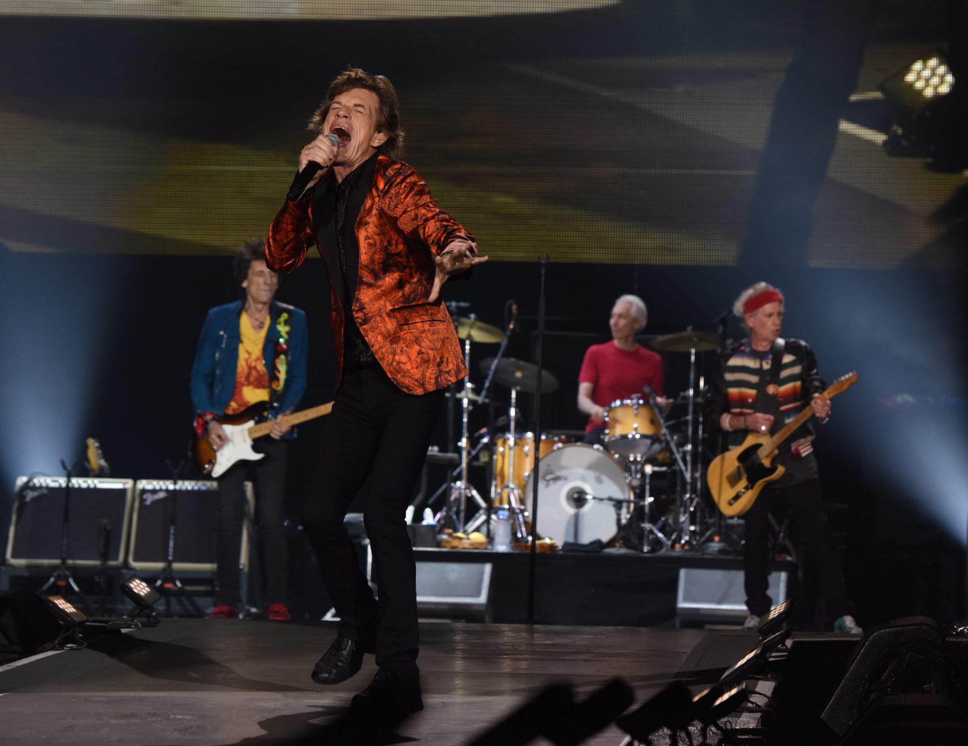 Primer concierto de los Rolling Stones en la ciudad de Lima.