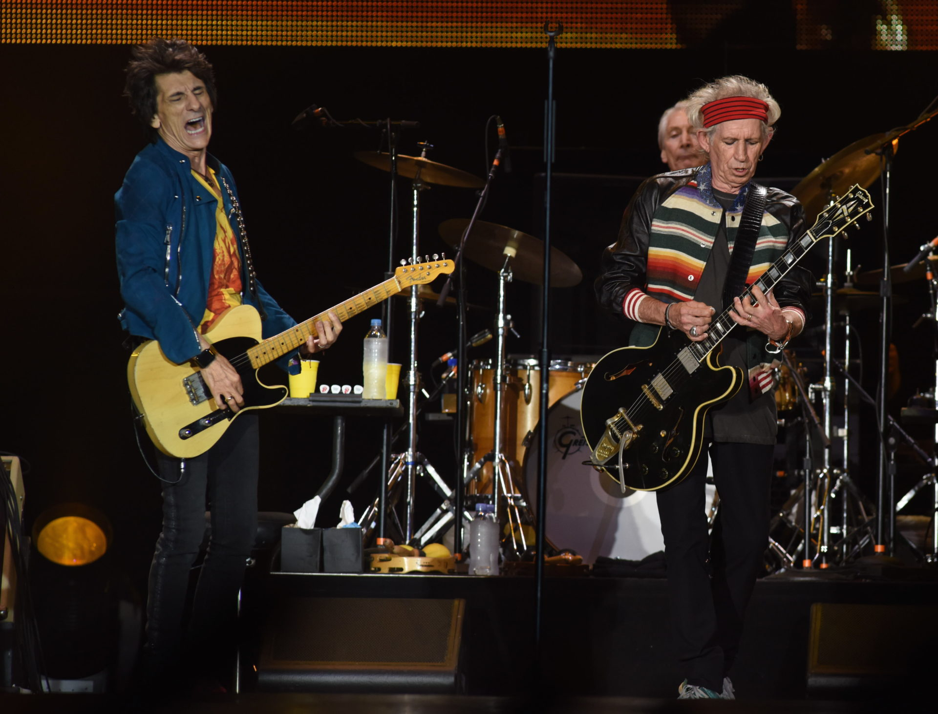 Ron Wood y Keith Richards destacaron en concierto de los Rolling Stones en Lima.