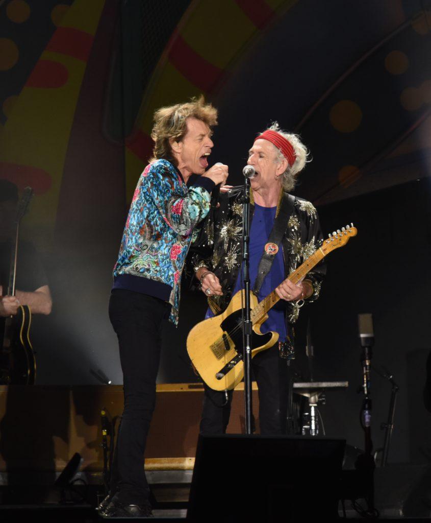 Mick Jagger y Keith Richards fueron los más ovacionados en Argentina.