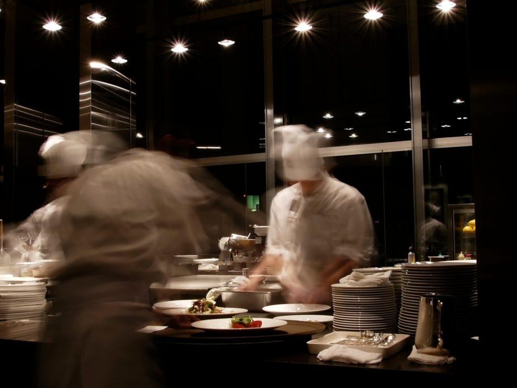 Cocina en El Celler de Can Roca