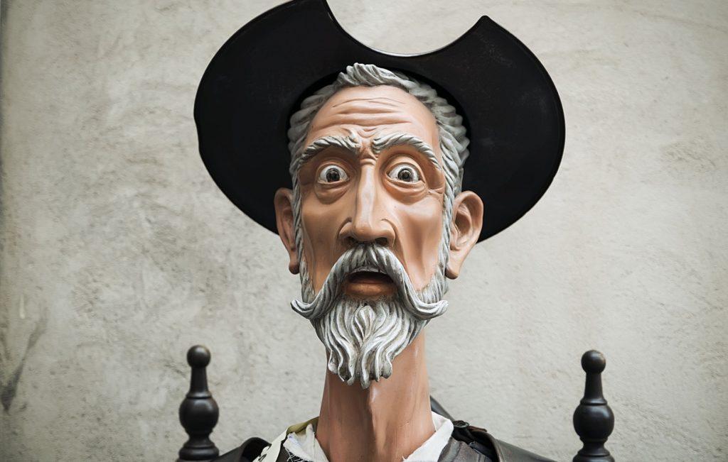 Escultura de Don Quijote de La Mancha