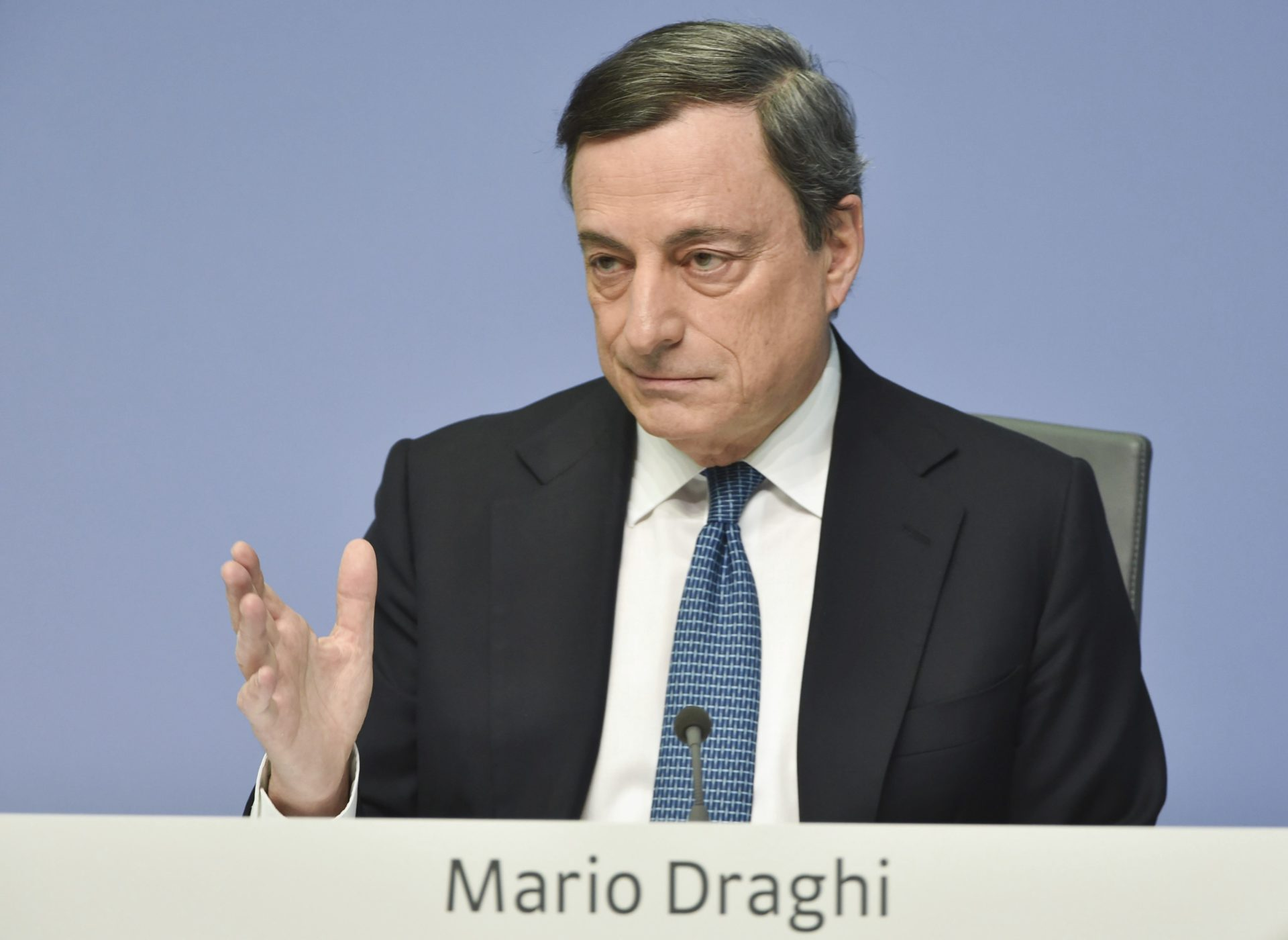 Mario Draghi. BCE. Banco Central Europeo