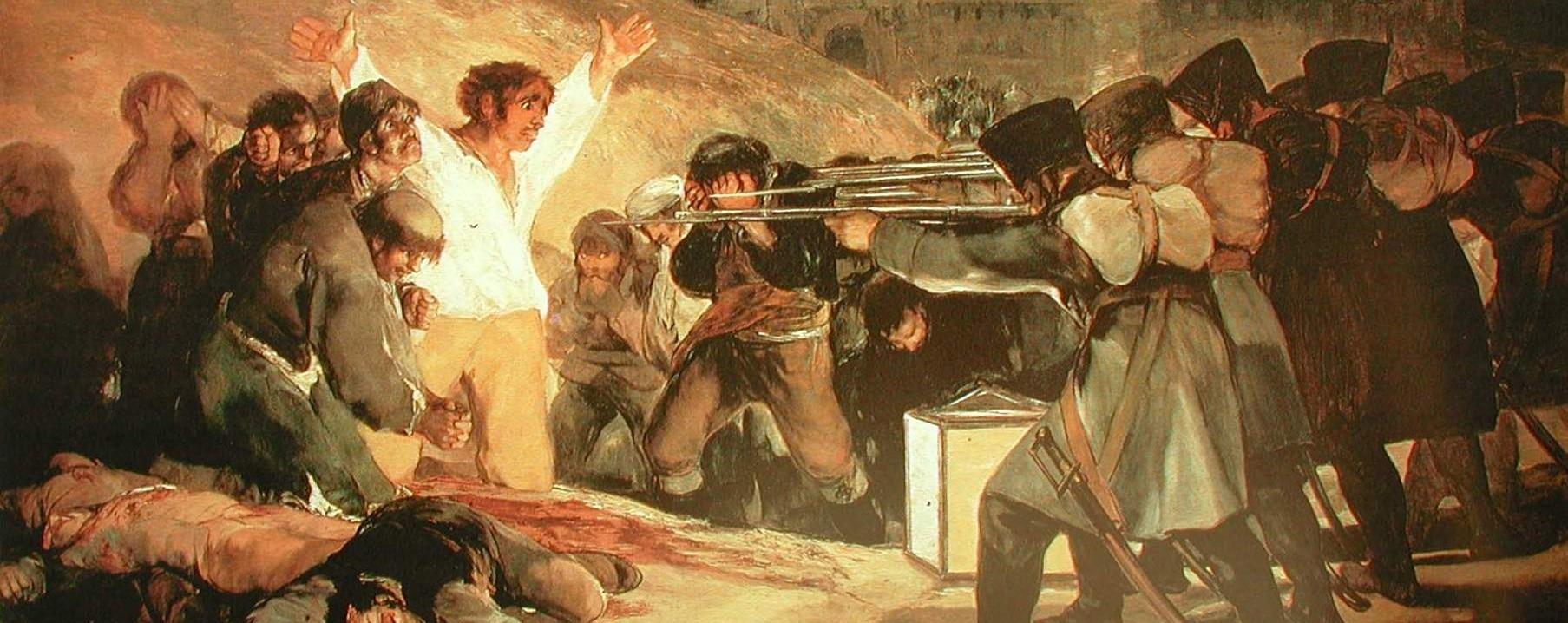 Los fusilamientos del 3 de mayo de Francisco Goya