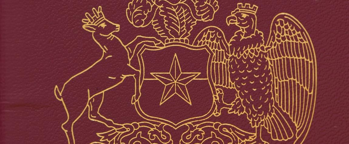 fotografía de pasaporte chileno chile