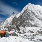 Fotografía del Annapurna nevado