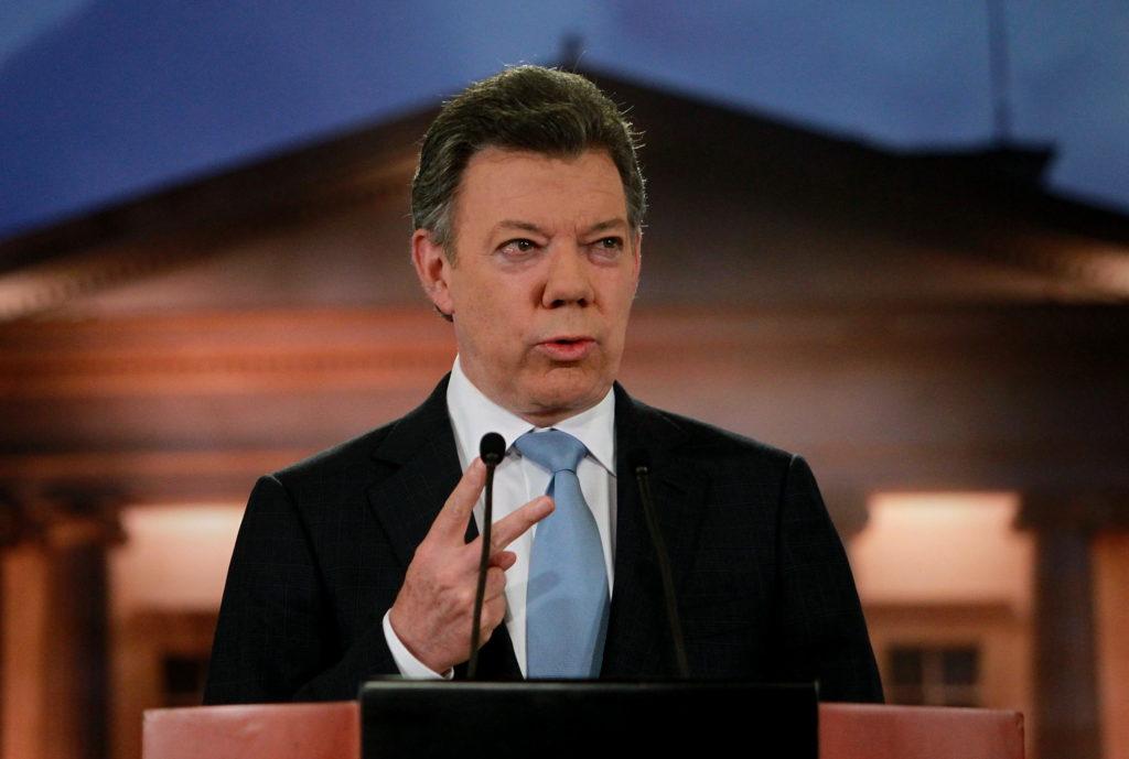 Imagen de Juan Manuel Santos Proceso de Paz Colombia 2012