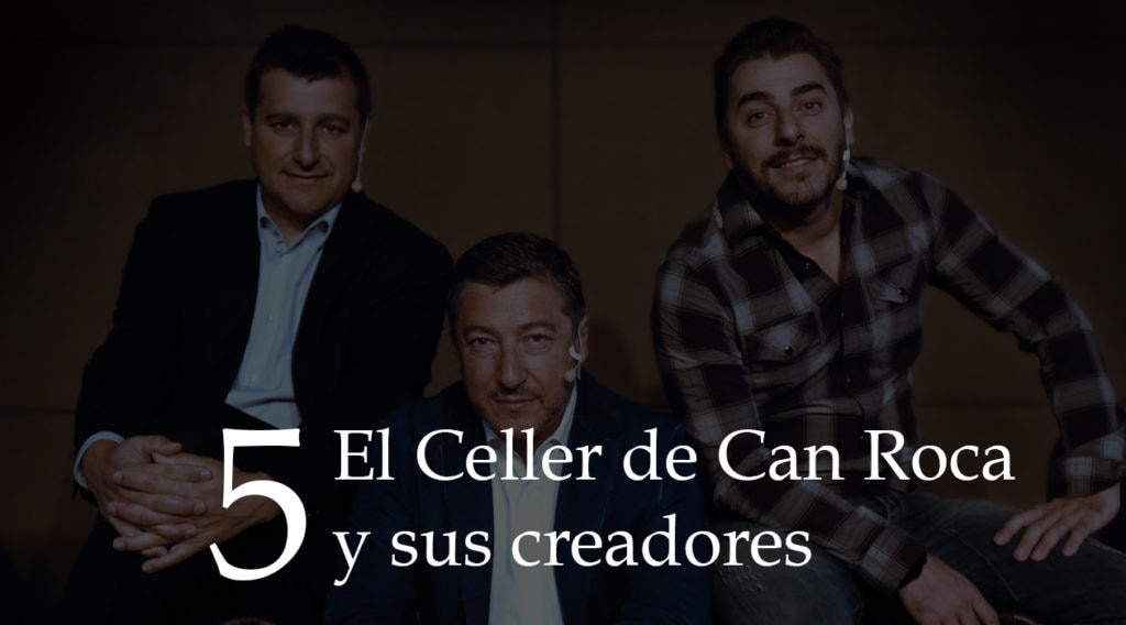 Fotografía de la cabecera El Celler de Can Roca y sus creadores Gira BBVA 2016