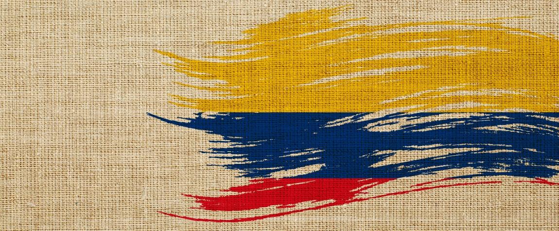 Imagen de BBVA Colombia tapiz bandera COL