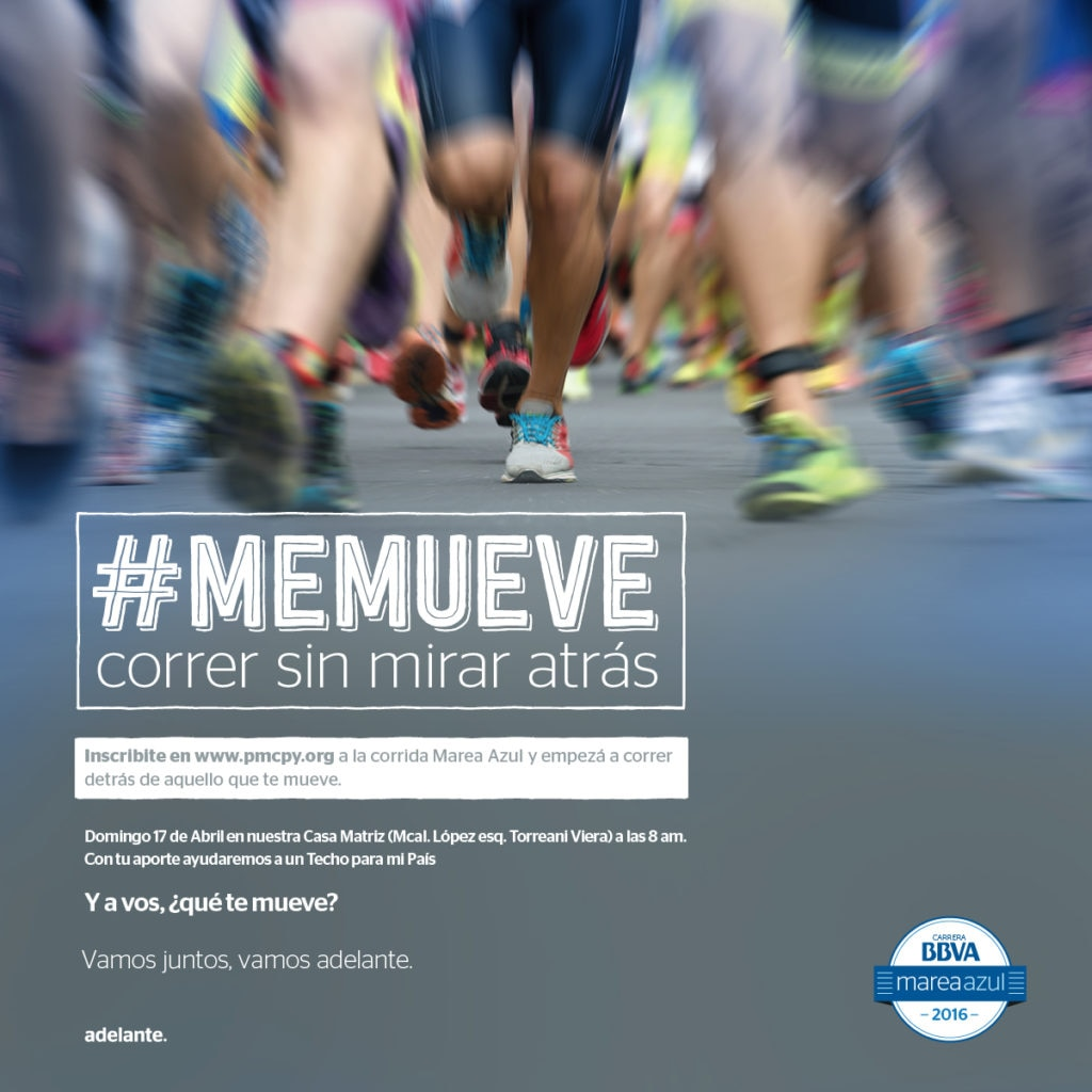 Fotografía del movimiento #memueve BBVA