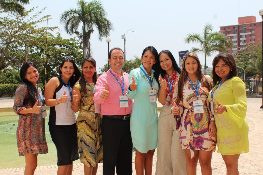 Fotografía de colaboradores de BBVA Colombia en Barranquilla