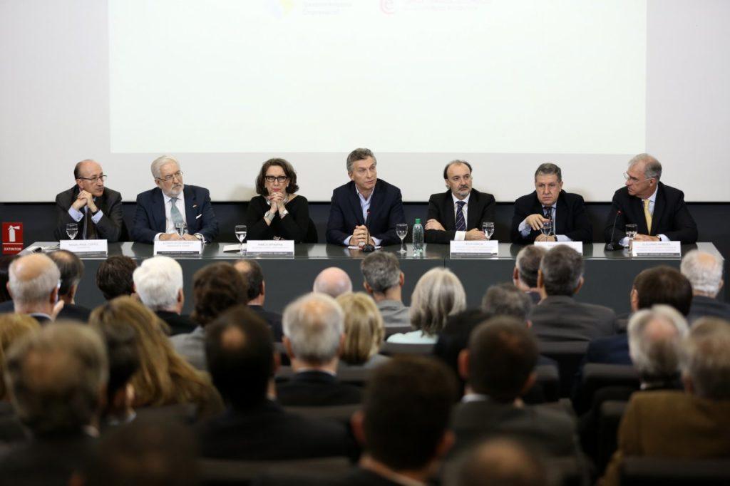 Fotografía inauguración del Encuentro Empresarial Iberoamericano en Buenos Aires