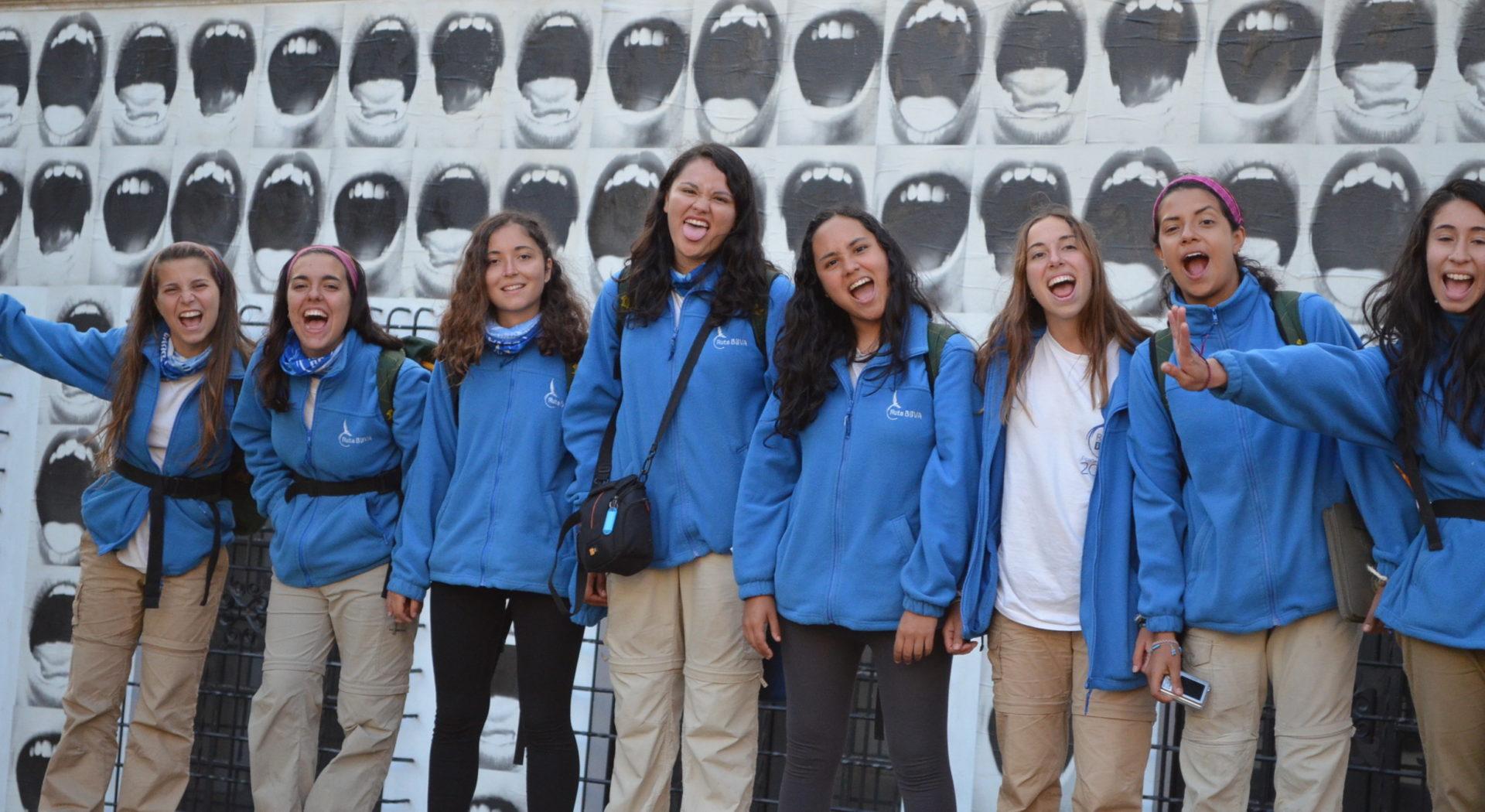 Fotografía de ruteras en Bogotá, Colombia