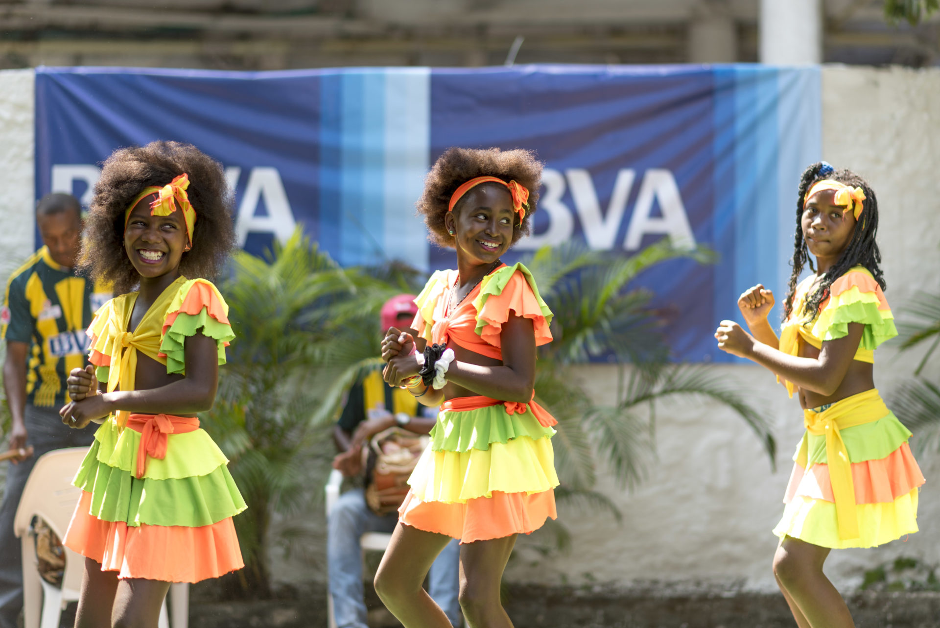 BBVA Colombia y World Coach apoyando el desarrollo de los niños cartageneros