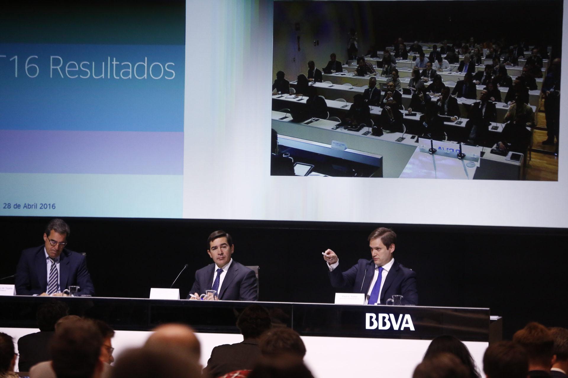 Presentación de los resultados de BBVA 1T2016