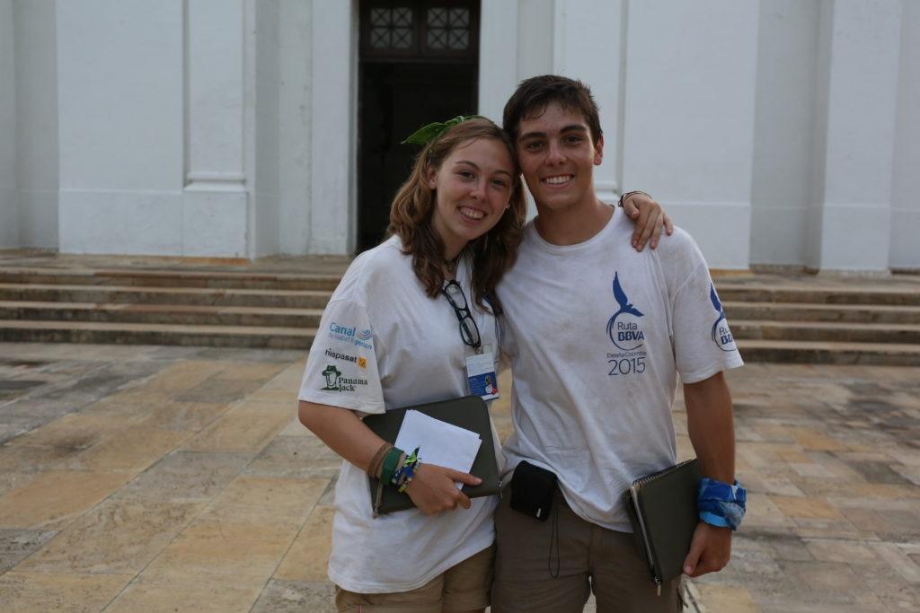 Ruta BBVA 2015, los mellizos Marta y Jaime Ochoa