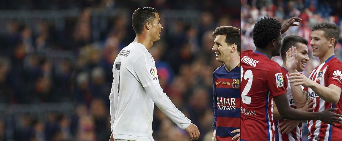 Cristiano, Messi y el Atlético de Madrid