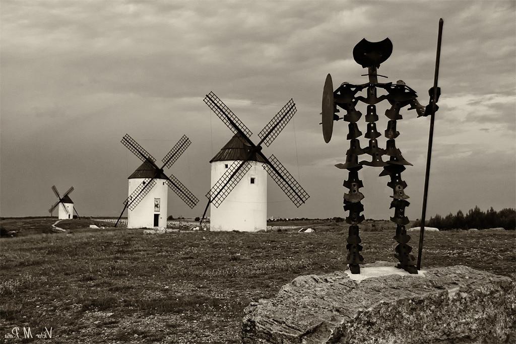 Imagen de Don Quijote y los Gigantes en Mota del Cuervo | Photo credit: Víctor Peña (Fotografía ViAn) via Foter.com / CC BY-NC-ND