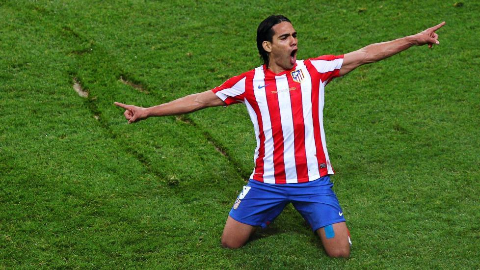 Falcao, exdelantero colombiano del Atlético de Madrid | Foto: EFE
