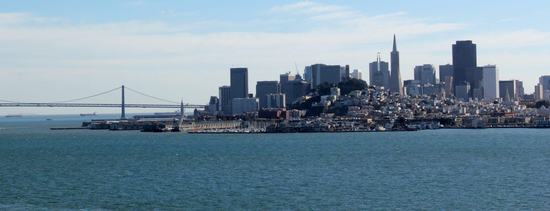 Fotografía de la bahía de San Francisco, parada de la Gira BBVA- El Celler de Can Roca 2016
