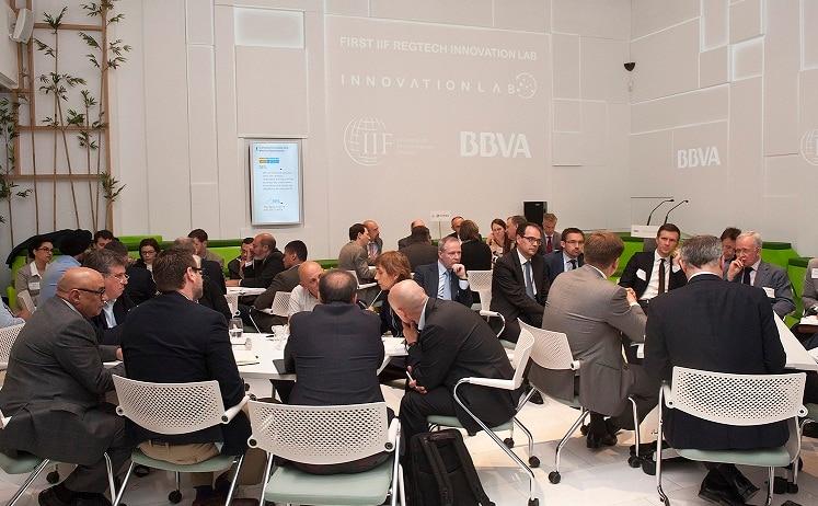 Regtech Innovation Lab BBVA and IIF Startups