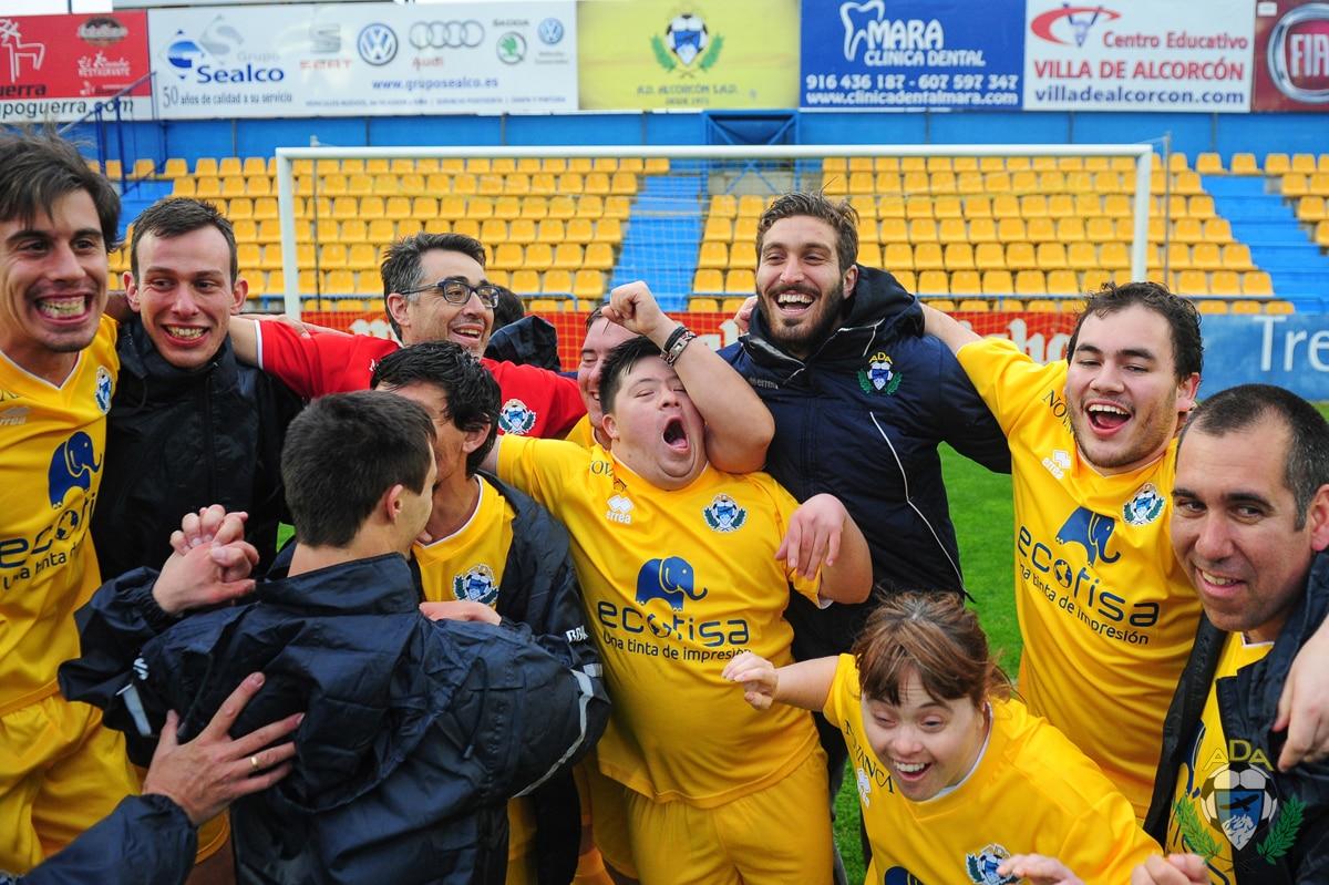 jornada solidaria alcorcón futbol