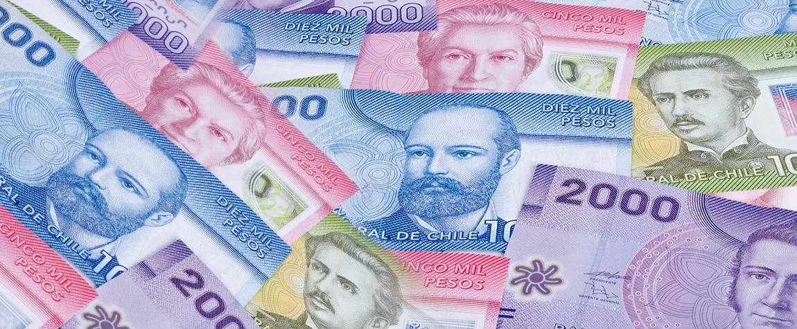 Billetes chilenos