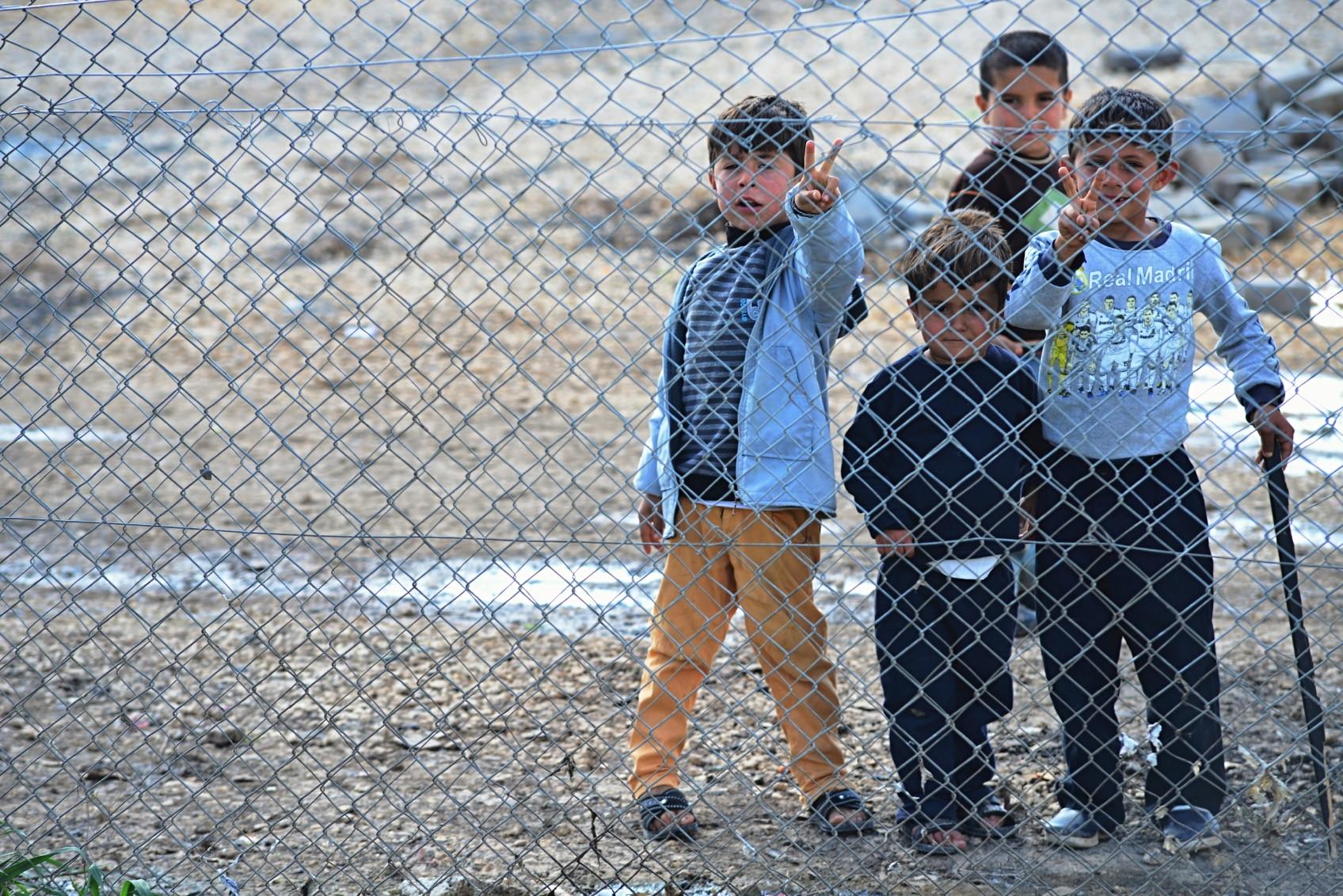refugiados siria recurso niños