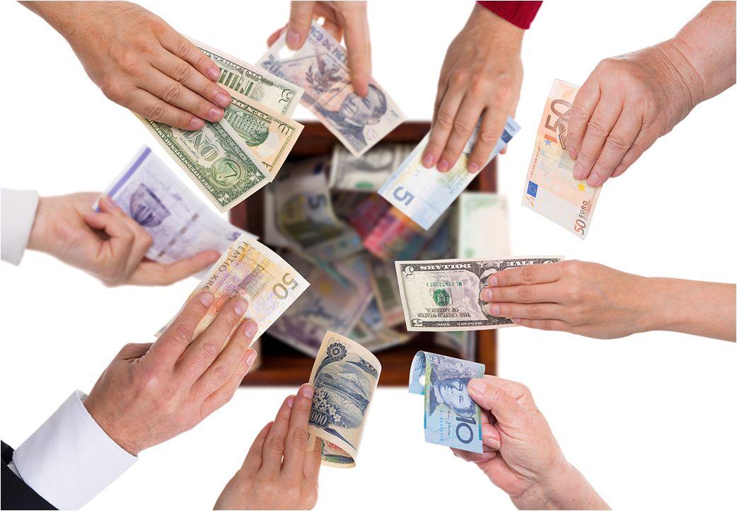 dinero billetes pago recurso remesas