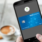 Fotografía de android pay samsung pago smartphone movil debito credito prepago tarjeta recurso bbva compass