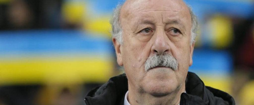 El seleccionador nacional, Vicente del Bosque | Foto: EFE