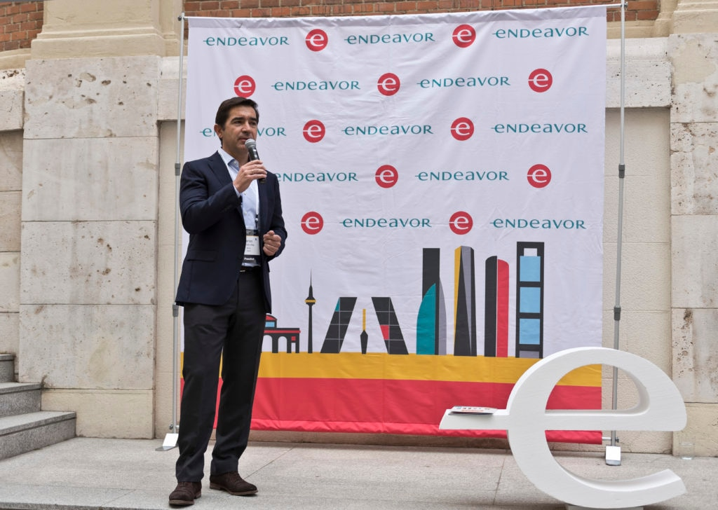 Carlos Torres CEO BBVA en Endeavor