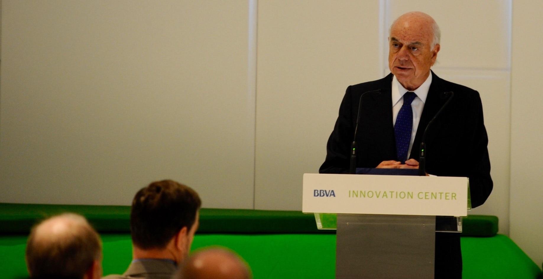 Francisco González durante su intervención en RegTech