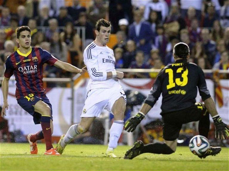 Fotografía de gol Gareth Bale-Final Copa del Rey 2014