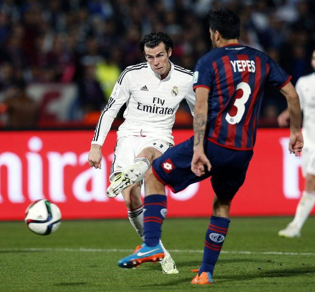 Fotografía gol Gareth Bale-Final Mundial de Clubes 2014